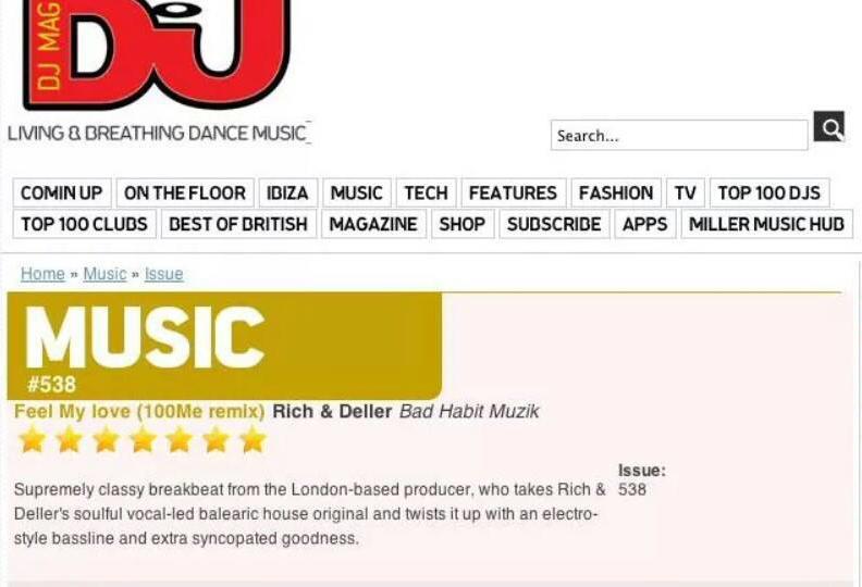 rich and deller dj mag review
