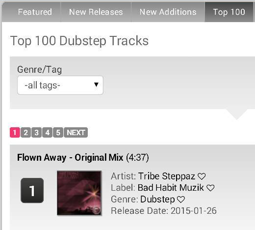 tribe steppaz #1 chart